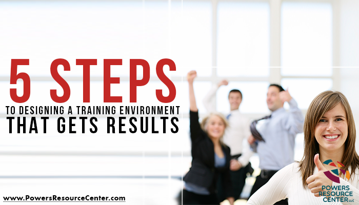 training environment of engaged employees