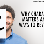 graphic that says why character matters and 5 ways to reveal it