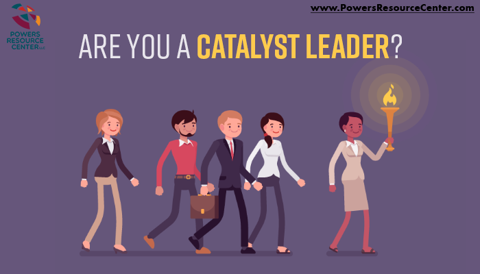 graphic that says are you a catalyst leader